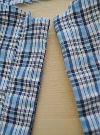 Dog shirt placket
