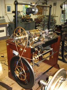 rose engine lathe