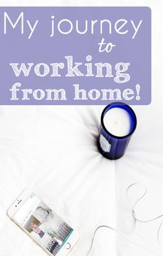 My journey in working from home. It's been a long road, but if you're interested in learning how to make money from home, know that it IS possible!