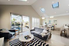 Homebuyers Centre - Flute (Harrisdale) Display Home Living (Raked ceiling not standard)