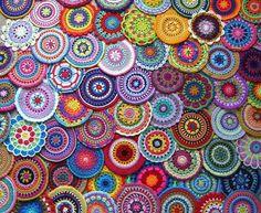 30 trendy ideas for crochet mandala free pattern attic 24 Art Au Crochet, Mandala Au Crochet, Crochet Motifs, Freeform Crochet, Mandala Pattern, Crochet Granny, Crochet Crafts, Crochet Doilies, Yarn Crafts