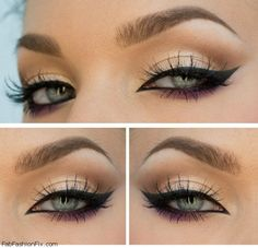 perfect cat eyeliner make-up look
