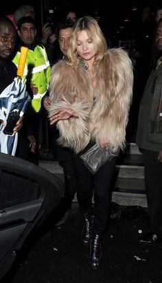 Kate Moss - Celebs Spotted at Ronnie Scott's Jazz Club