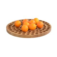 Geo 500 is a smart, elegant wooden bowl that keeps your fruit fresher, longer. It's lathe turned from solid oak with holes to keep air flowing around your produce, keeping it as fresh as possible. The grain of the wood is rustic, and pairs beautif...