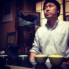 Yoshida San kindly gave us some tencha shincha for Wednesday's #talesofthebackroad | samidori  asahi | http://ift.tt/1WX3bHL