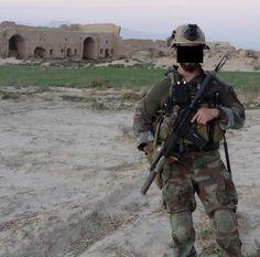 US Marine Raider in Afghanistan.