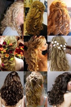 Wedding hairstyle with curls - 35 photos of fashion options