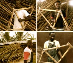 harnessing ghana's bamboo harvest, the initiative was born out of wanting to create a bike that is ecologically sustainable and stylish, while also being a socially responsible venture providing economic benefits to the local community.