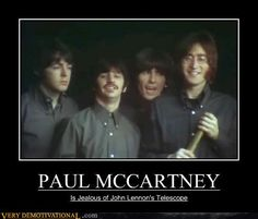 Demotivational Poster - Beatles