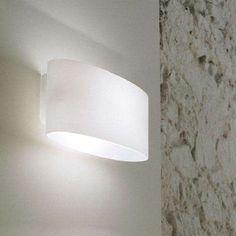 Satin White, illuminated, alternative side view