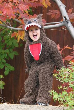 DIY Girls Halloween Costumes  : DIY Halloween Costumes : The Wolf (from Little Red Riding Hood)