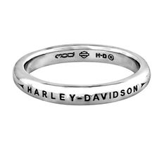 Custom Wedding Ring Collection by Harley-Davidson | I Love Harley Bikes