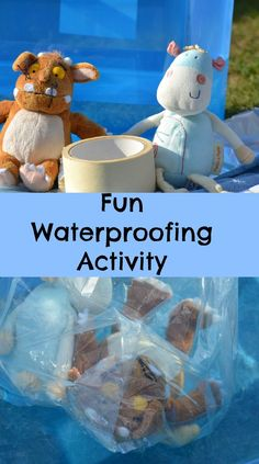 Properties of Materials - How waterproof is it? - - Properties of Materials – How waterproof is it? Educational Learning – Science Fun waterproof activity using soft toys Science Area, Primary Science, Kindergarten Science, Teaching Science, Primary Teaching, Science Classroom, Teaching Ideas, Classroom Ideas, Bugatti Veyron
