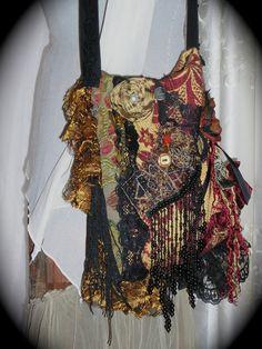 Fabric gipsy bag