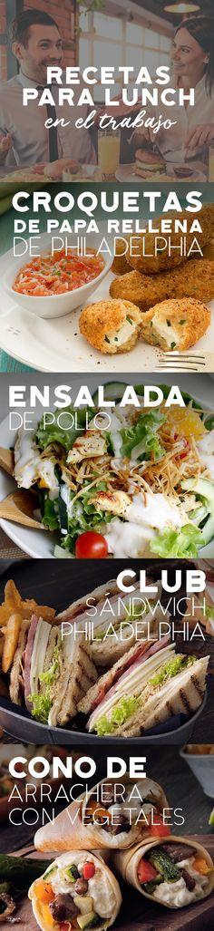 Rico lunch fácil de preparar para llevarte al trabajo. Visita la página y aprende más !