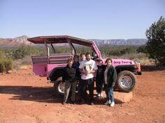 Sedona, AZ   Pink Jeep Tours