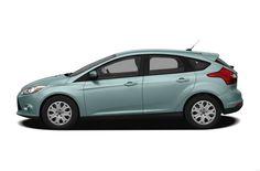 2012 Ford Focus Coupe Hatchback 4-door - average income car.
