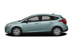 2012 Ford Focus Coupe Hatchback 4-door - average income car.