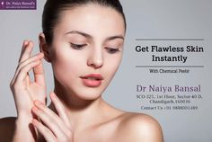 Are you suffering from skin problems like wrinkles, dark spots, uneven skin tone, pimples, acne etc? It's time to get in touch with the best skin doctor in Chandigarh. Dr. Naiya Bansal is most celebrated and renowned skin doctor in Chandigarh for providing solution to all kinds of skin problems at cheapest prices in the tricity. Get in touch with her today for the best skin treatments. Skin Specialist Doctor, Permanent Laser Hair Removal, Skin Clinic, Doctor In, Uneven Skin Tone, Chandigarh, Skin Problems, Dark Spots, Pimples