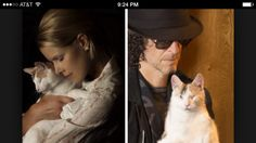 Meet Bella Howard+Beth's blind rescue cat. #5. Awesome