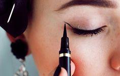 Designer Clothes, Shoes & Bags for Women Kristina Bazan, Makeup Inspiration, Eyeliner, Eye Makeup, Beauty Hacks, Cat Eye, Women, Polyvore, Beauty Tricks