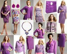 Farb-und Stilberatung mit www.farben-reich.com - violet/orchid for True Spring