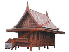 A 0003 House for / home wooden Thailand / Thailand houses / house / style pavilion Thailand / Thailand wooden pavilion / gazebo made of teak Thailand / Thailand pavilion style solid wood / wood gazebo / pavilion Thailand / pavilion disassembled / thai wood pavilion.