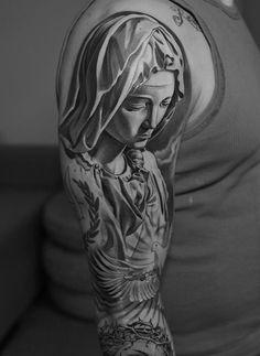 black and grey artist.Lowrider Tattoo Studio - too rad Juncha Tattoo, Body Art Tattoos, Cool Tattoos, Mens Tattoos, Samoan Tattoo, Polynesian Tattoos, Tattoo Sleeve Designs, Tattoo Designs Men, Sleeve Tattoos