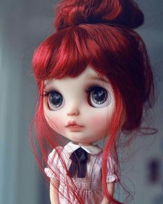 Fashion, Character, Play Dolls Confident Sarah Ooak Custom Blythe Tbl Fake Doll Numerous In Variety