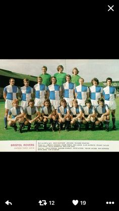 Bristol Rovers 1973/74.