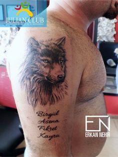 wolf tattoo ideas. #tattoos #tattoo #wolf #realism
