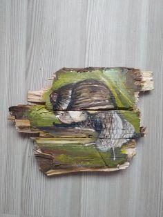 Molnár Roland munkája, Kreatív Hobbik csoport Fa hulladékból gyönyörű festmény Fa, Plates, Tableware, Painting, Licence Plates, Dishes, Dinnerware, Griddles, Tablewares