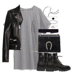 """""""Untitled #2600"""" by theeuropeancloset on Polyvore featuring Kendall + Kylie, Gucci, Yves Saint Laurent, 8 Other Reasons, Accessorize and Monica Vinader"""