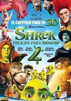 """Ver película Shrek 4 online latino 2010 gratis VK completa HD sin cortes descargar audio español latino online. Género: Animación, Infantil Sinopsis: """"Shrek 4 online latino 2010"""". """"Shrek para siempre"""". """"Shrek, felices para siempre """". """"Shrek Forever After"""". En lugar d"""