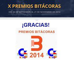 Nuestra Clasificación final en los X Premios Bitácoras | Commodore Spain