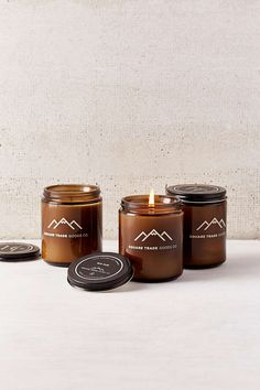 Square Trade Goods Co. Jar Candle