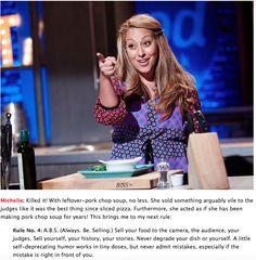 Always be selling. Michelle Karam AKA The Mediterranean Mama Food Network Star, Food Network Recipes, Jeff Mauro, Stars, Star