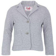 Il Gufo Girls Grey Jersey Blazer | AlexandAlexa