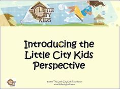 Little City Kids offers daily play-based world history curriculum (FREE) (grades pre-k to about grade one, Montessori-style)