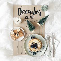 Flatlay Inspiration · via Custom Scene · Image Via: Christmas Time Is Here, Christmas Mood, Merry Little Christmas, Noel Christmas, All Things Christmas, Christmas Flatlay, Father Christmas, Christmas Morning, Decoration Christmas