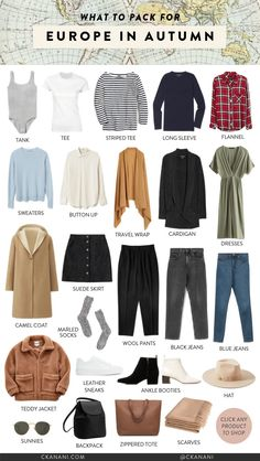 to Pack for a Cold Weather Trip What to pack for fall in Europe (or any cold weather trip). What to pack for fall in Europe (or any cold weather trip). Packing For Europe, Packing Tips For Travel, Traveling Europe, Europe Outfits, Fall Outfits, Travel Capsule, Europe Fashion, Travel Fashion, Mein Style