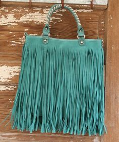 Miss Rodeo Purse -Turquoise $44 http://dumbblondeboutique.com/mirot.html