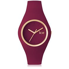 Ice Watch ICE Glam Forest Wristwatch for women Silicone strap * Check out this . Bordeaux, Bracelet Silicone, Display Boxes, Cool Watches, Fashion Watches, Bracelet Watch, Cool Designs, Clock, Unisex