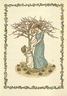May - Kate Greenaway's Almanack for 1897