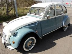 1990 Citroen 2CV.. Hard to believe(or not) that shape had barely changed from the 1948 original and I have been told that the 1990 body panels are actually interchangable with the 1948 model