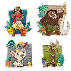 Disney Moana Limited Edition Pin Set | Disney Store