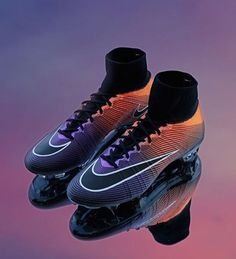 Nike Mercurial Radiant Reveal now available for customization on Nike ID. Oh, and they glow in the dark. Super cool from Nike in my opinion. Are you a fan of this? #cleatstagram #nike #soccer #mercurial #superfly