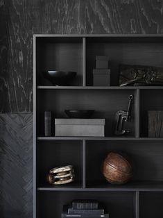 BEELDSTEIL.com Ikea Valje Storage System   black on black  