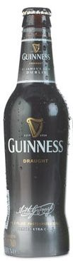 Guinness Draught : 126 cals, 10g carbs, 4% alc; great taste w/ cal-count of a light beer