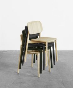 Soft Edge Chair   Wood By Hay